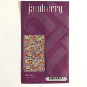 Jamberry Nail Wraps Full Sheet Floral Memory Lane